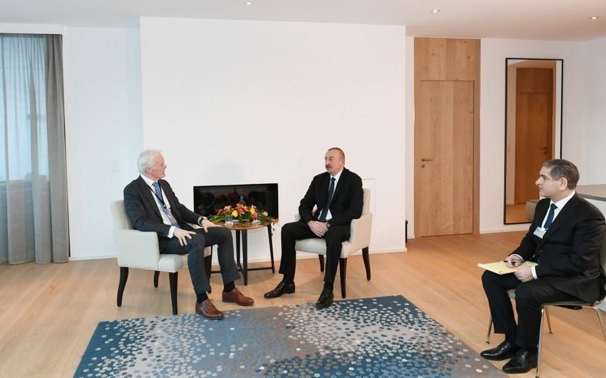 """Prezident İlham Əliyev """"Microsoft"""" şirkətinin vitse-prezidenti ilə görüşüb - YENİLƏNİB"""