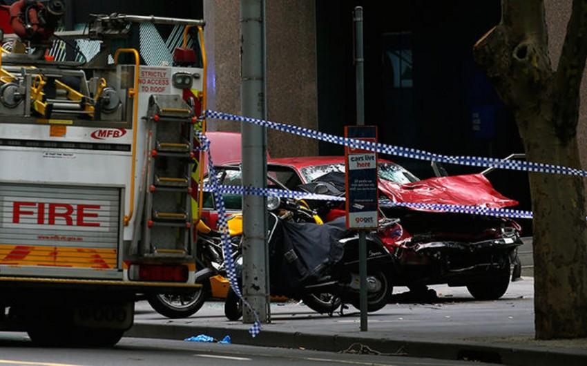Police: Man rammed in pedestrians in Melbourne was mentally ill