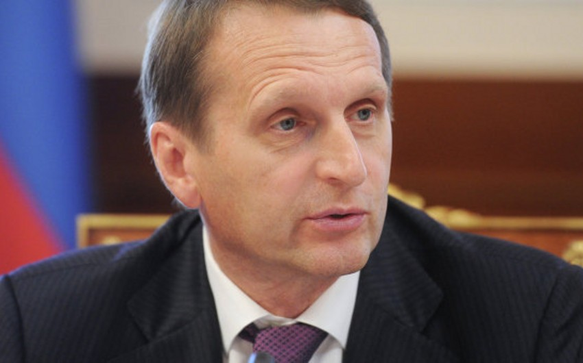 Chairman of State Duma: In PACE Azerbaijan voted in favor of justice and common sense