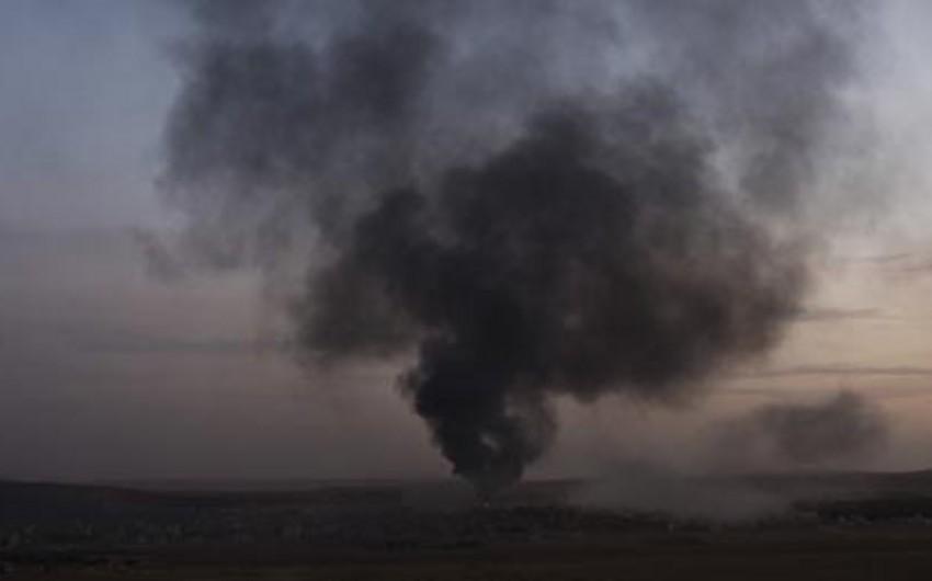 İordaniya sərhədində avtomobil partladılıb, 10 nəfər ölüb