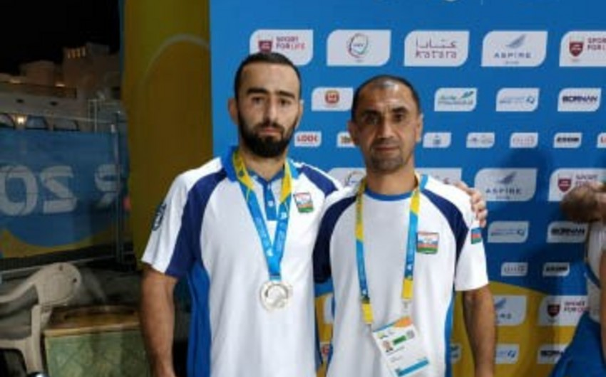 İbrahim Yusubov Dünya Çimərlik Oyunlarının gümüş medalını qazanıb