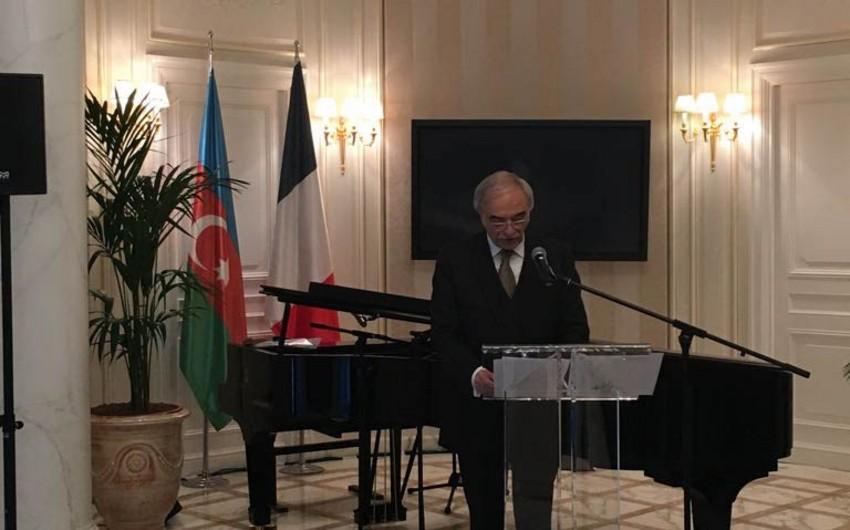 Parisdə Polad Bülbüloğlunun YUNESKO-nun baş direktoru vəzifəsinə namizədliyinin təqdimatı keçirilib - FOTO - VİDEO