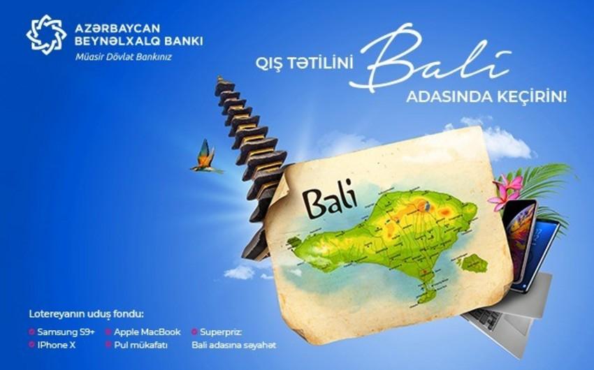 Azərbaycan Beynəlxalq Bankının 100 müştərisi hədiyyə qazanıb