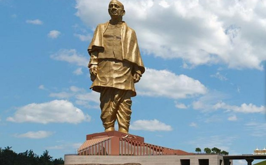 India unveils world's tallest statue - PHOTO - VIDEO