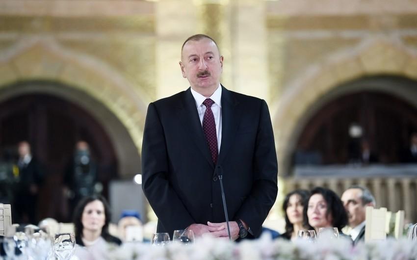 Dövlət başçısı: Bu gün mənfəət neftinin 75-80 faizi Azərbaycana çatır