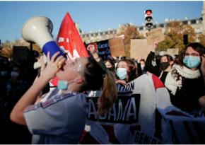 В Париже на акции протеста начались беспорядки