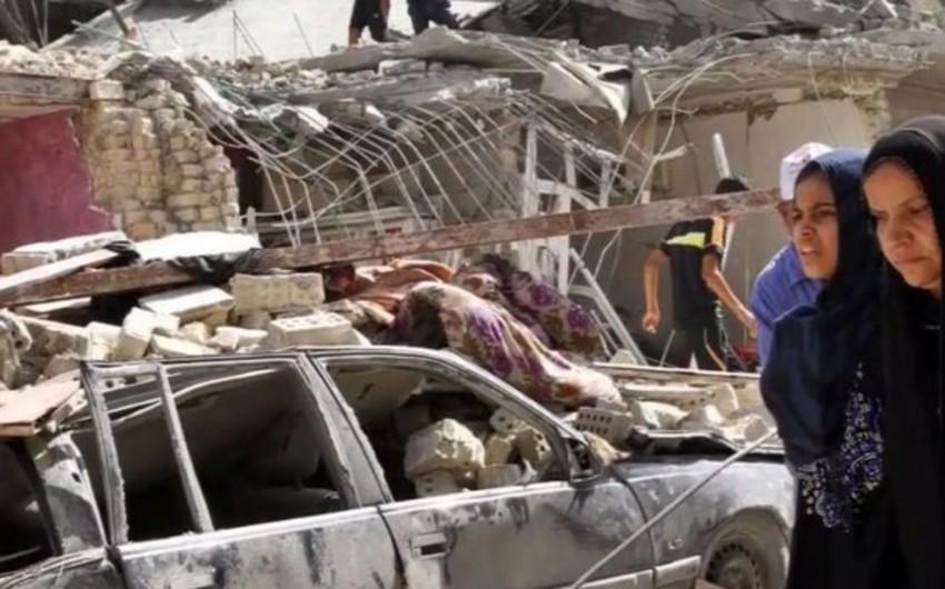 İraq ordusu əl-Fəluca şəhərində xəstəxananı bombaladı: azı 25 ölü