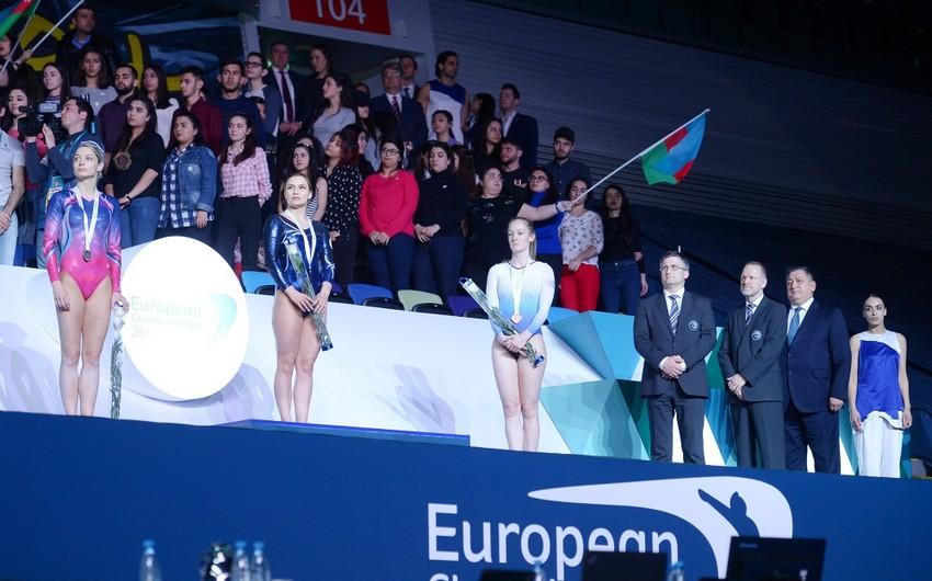 Batut gimnastikası, ikili mini-batut və tamblinq üzrə 26-cı Avropa çempionatına yekun vurulub