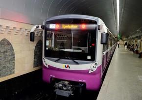 Bakı metrosunda qatarlar radiodalğalarla idarə ediləcək