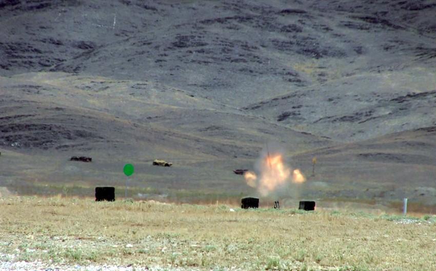 Азербайджанские артиллеристы заняли третье место на конкурсе в Казахстане