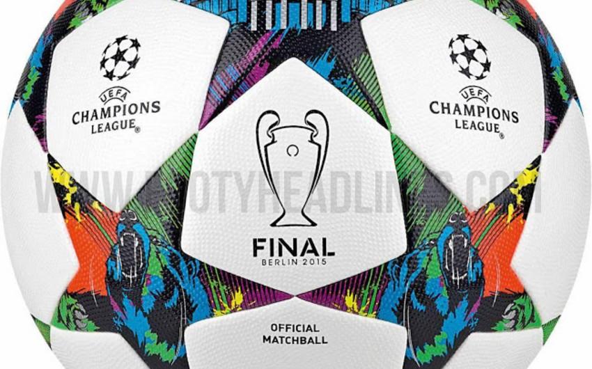 УЕФА презентовал мяч финала Лиги чемпионов сезона-2014/2015