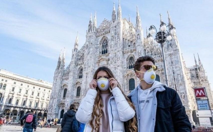 İtaliyada koronavirus qurbanlarının sayı 13 mini ötdü