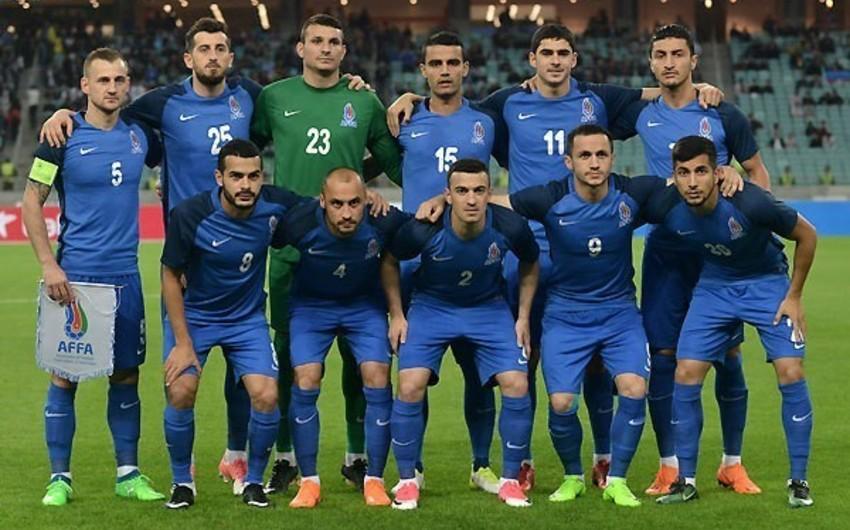 Azərbaycan millisi FIFA reytinqində geriləyib