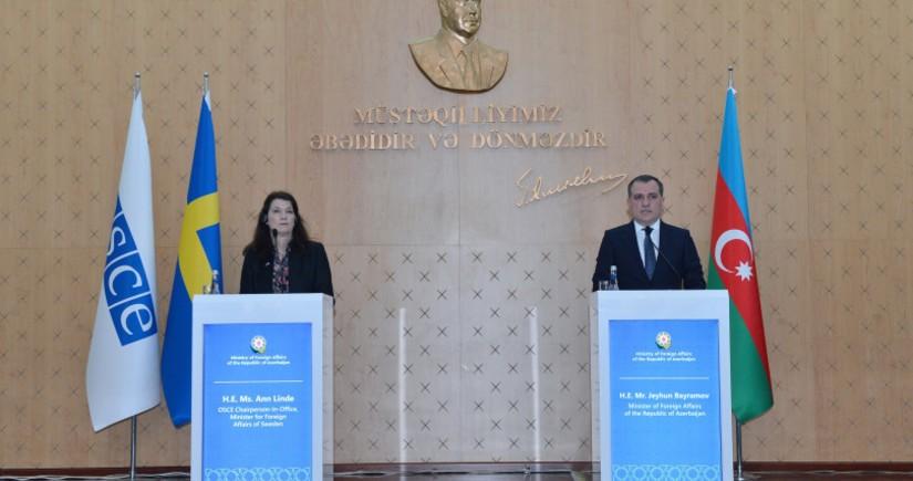Глава МИД Азербайджана и Швеции провели телефонный разговор