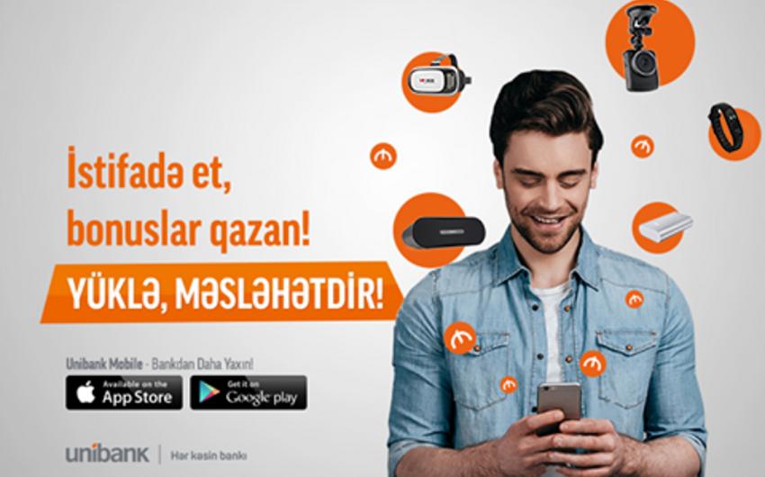 Unibank Mobilea yeni funksiyalar əlavə edilib