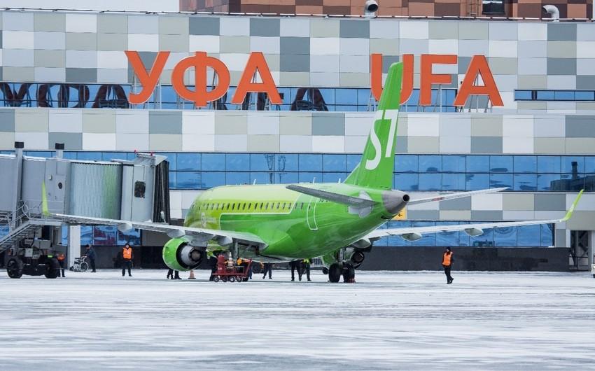 Самолет, летевший из Баку в Сургут, вынужденно сел в Уфе