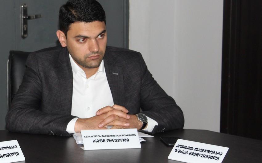 Azərbaycanlı məmur Gürcüstanın hakim partiyasından istefa verdi