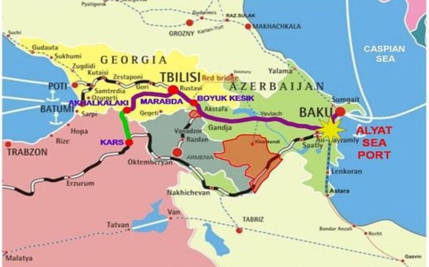 Azərbaycan bu il İpək yolu dəhlizindən 319 mln. manat qazanıb