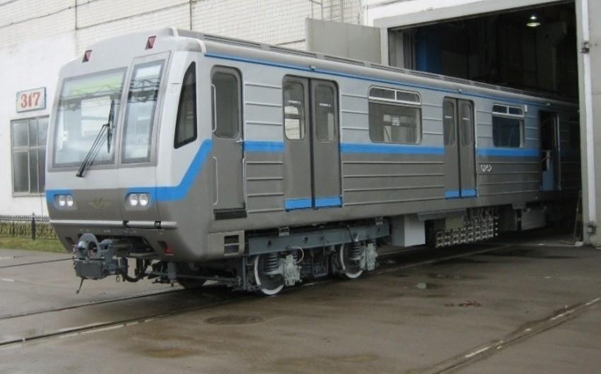 Azərbaycana yeni metro vaqonları gətiriləcək