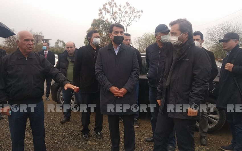 Turkic Council delegation visits Juma Mosque in liberated Aghdam