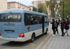 В ряде регионов Азербайджана приостановят движение общественного транспорта