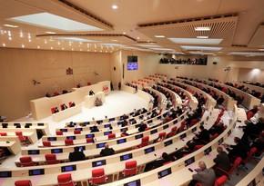 В парламенте Грузии проведены обсуждения по Карабаху