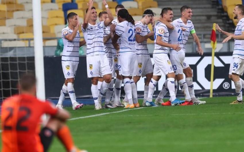 Mirça Luçesku Kiyev Dinamosunda ilk titulunu qazandı