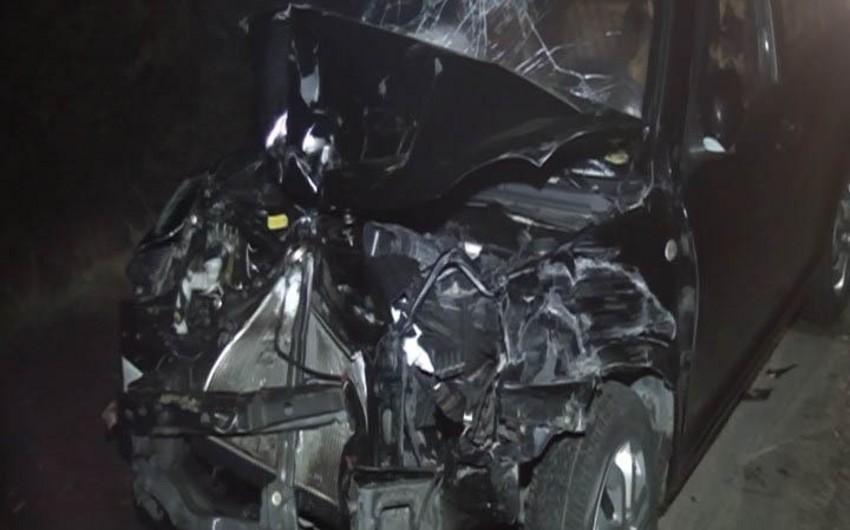 Goranboyda maşın traktorla toqquşub, 5 nəfər yaralanıb - FOTO - YENİLƏNİB