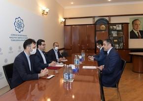 Рамин Гулузаде рассказал послу Ирана об агрессивной политике Армении