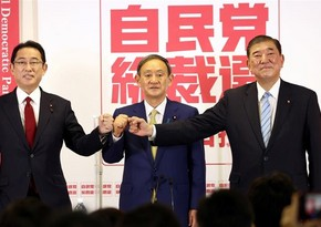 Leadership race for Japan's ruling party to start today