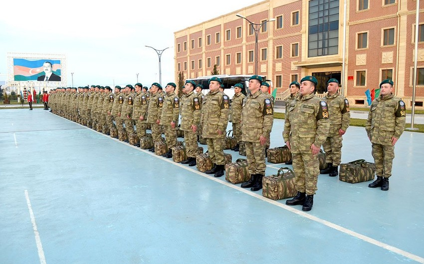 Group of Azerbaijani peacekeepers return from Afghanistan