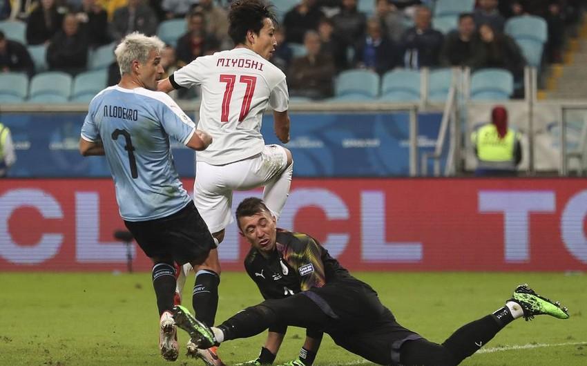 Сборная Уругвая не смогла выиграть у Японии в матче Кубка Америки
