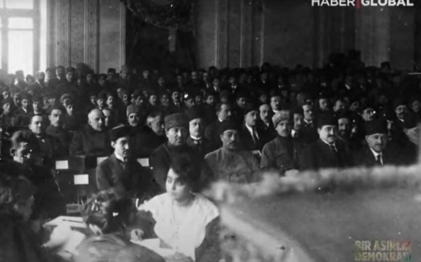 """""""Haber Global"""" AXC-nin 103 illiyi münasibətilə sənədli film hazırladı-"""