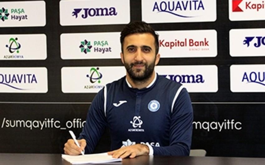 Sumqayıt klubu dövrələrarası fasilədə ilk transferini həyata keçirib