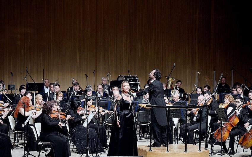 Bakıda Rusiyanın tanınmış müğənnilərinin konserti keçirilib
