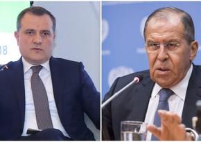 Главы МИД Азербайджана и России обсудили соглашение по Карабаху