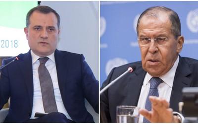 Azərbaycan və Rusiya XİN başçıları Qarabağ bəyanatını müzakirə ediblər