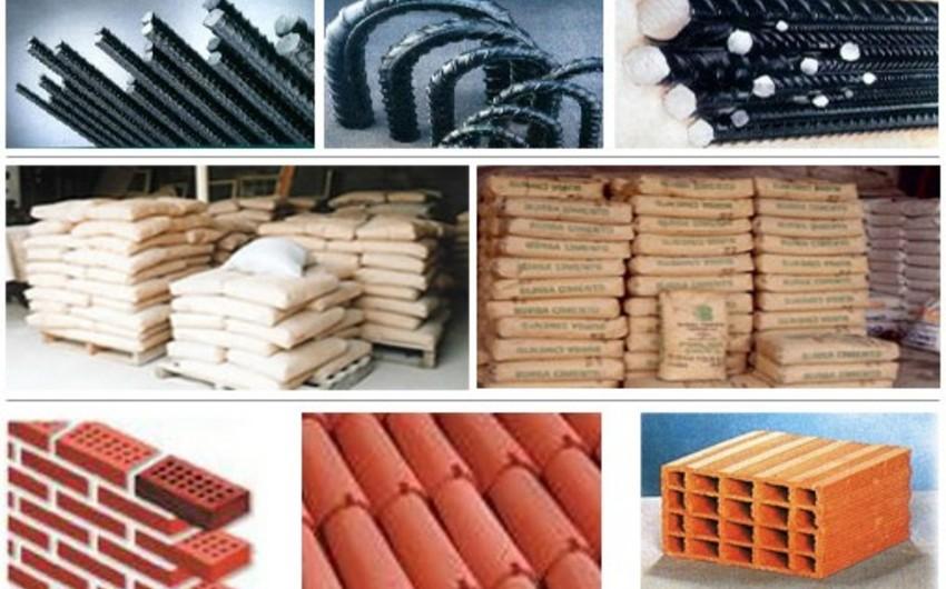 Azərbaycanda tikinti materiallarının istehsalı 48,5% azalıb