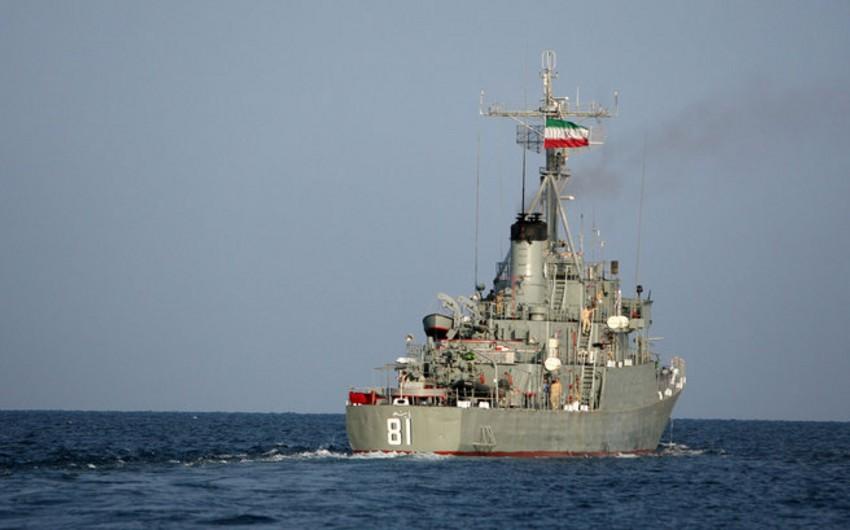 Iranian warships cannot drop anchor in Baku port