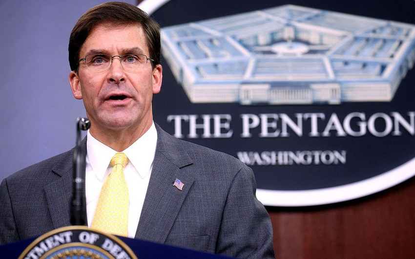 Pentagon chief visits Iraq to discuss withdrawal of U.S. troops from Syria