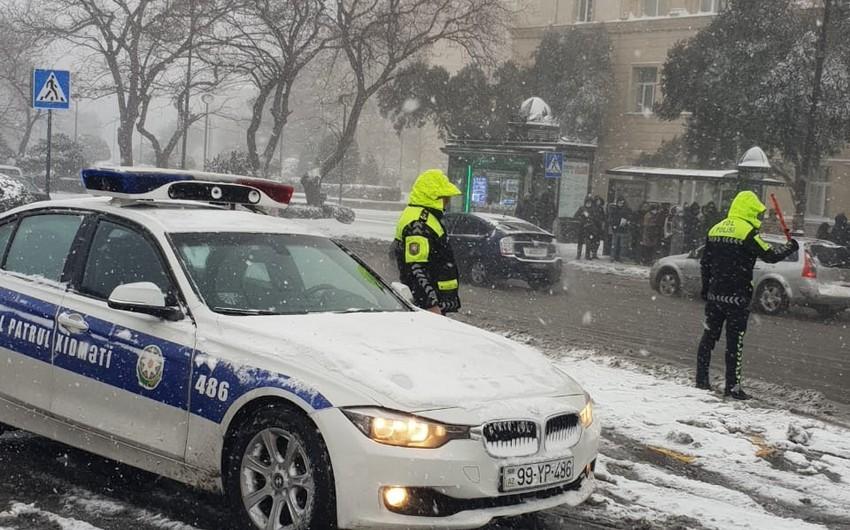 Дорожная полиция Азербайджана обратилась к водителям