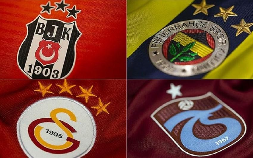 Türkiyənin aparıcı klublarının borcları -