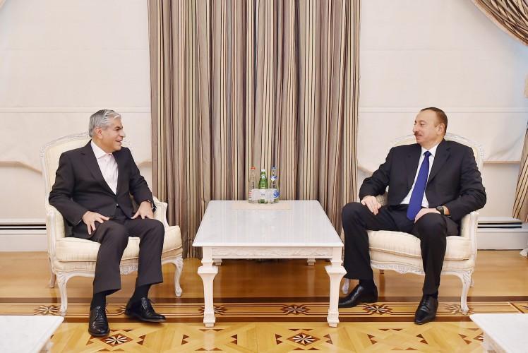 Президент Азербайджана принял генерального секретаря Форума стран-экспортеров газа