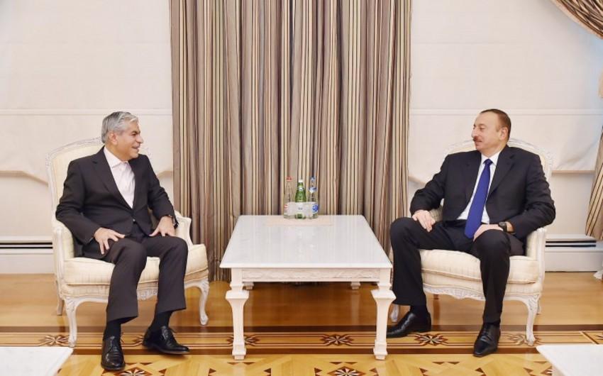 Azərbaycan Prezidenti Qaz İxrac edən Ölkələrin Forumunun baş katibini qəbul edib