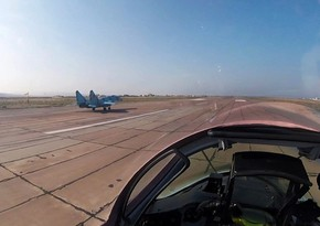Azerbaijani Air Forces conduct combat-training flights