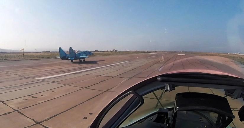 Azerbaijani Air Forces conduct combat-training flights