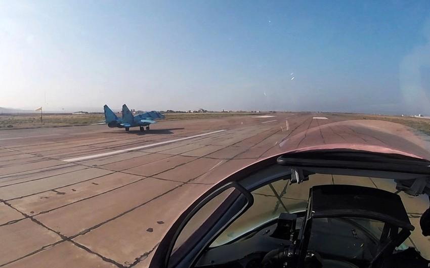 Проводятся учебно-боевые полеты ВВС Азербайджана