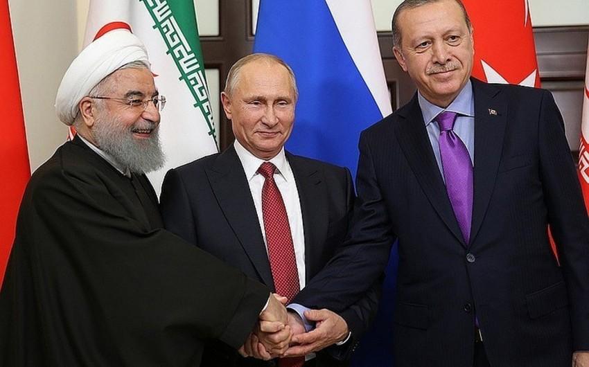 Ankarada Suriya münaqişəsinə dair üçtərəfli sammit başa çatıb