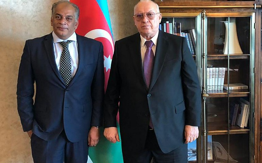 AZAL President meets with Egyptian Ambassador to Azerbaijan