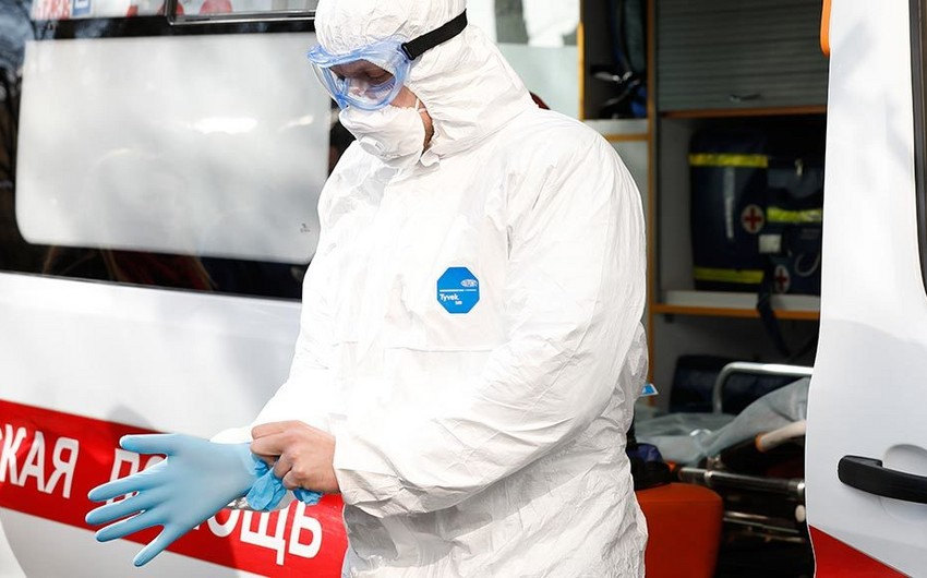 Rusiyada son gündə 18 554 nəfər koronavirusa yoluxub